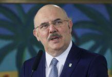 ministro da Educação, Milton Ribeiro - Isac Nóbrega-PR