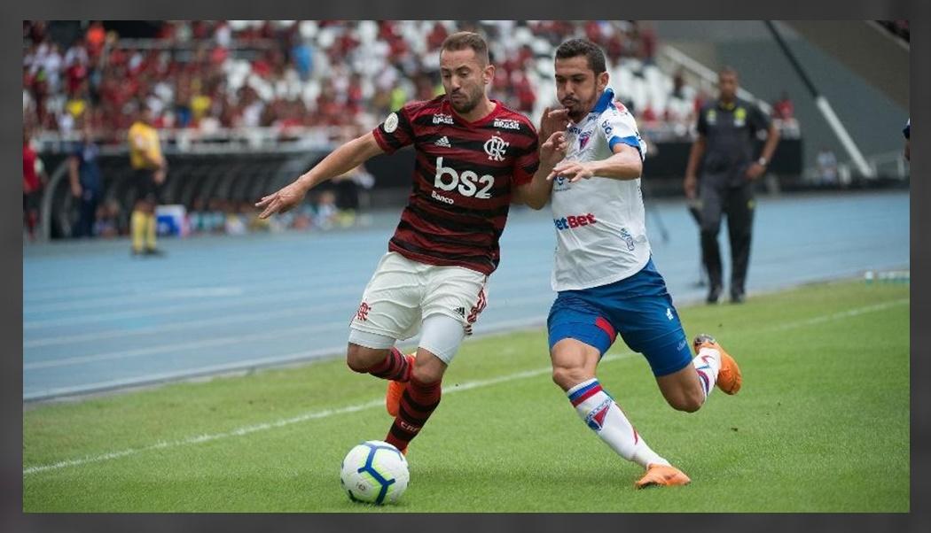 Flamengo e Fortaleza ao vivo - Foto - Alexandre Vidal-Flamengo