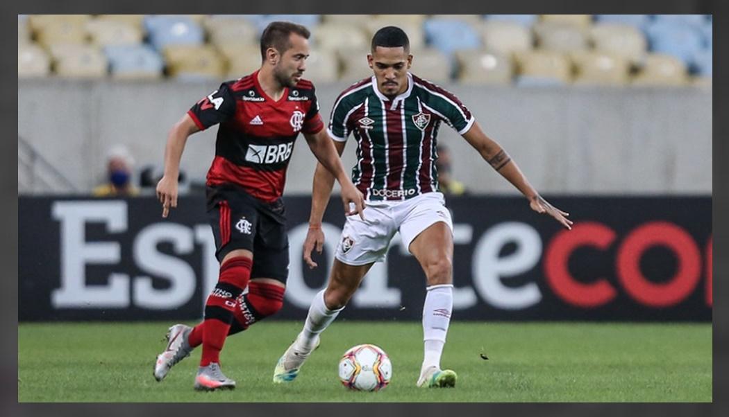Fluminense x Flamengo ao vivo - Foto-Lucas Merçon-Fluminense FC