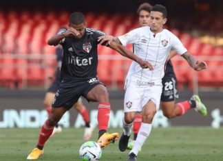 São Paulo x Fluminense - Foto-Rubens Chiri-saopaulofc.net-Direitos reservados