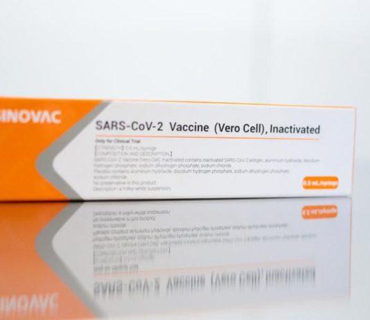 vacina chinesa - Governo de São Paulo