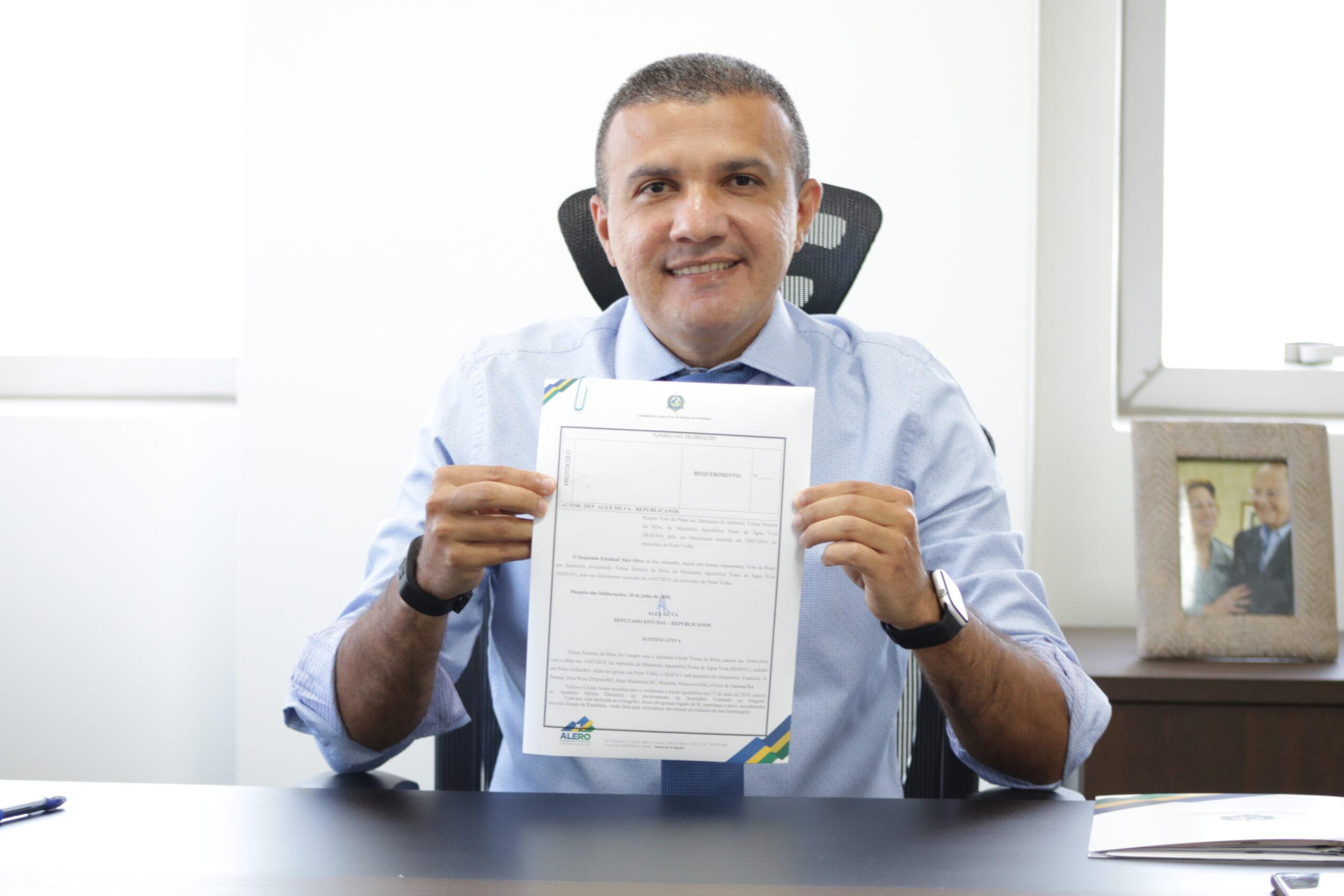 Deputado Alex Silva